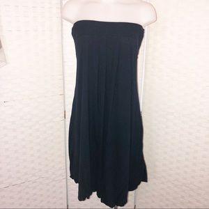 Diane von Furstenberg strapless silk dress Sz 8